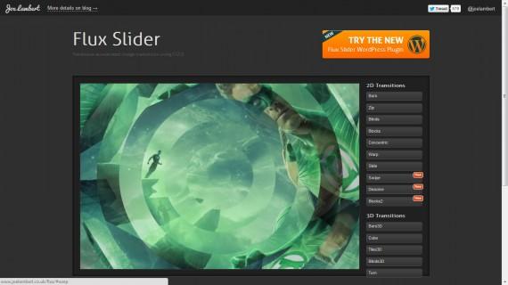 JQuery-Silders-FluxSlider