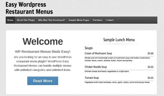 realizzazione siti web per ristoranti 2_WP_Restaurant_Menus
