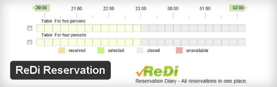 sviluppo siti web per ristoranti 4_Reservation_Diary_Plugin