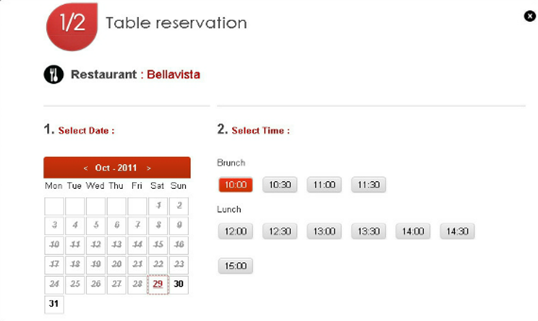 menu per sito web ristorante 5_JS_Restaurant_table_reservation_plugin