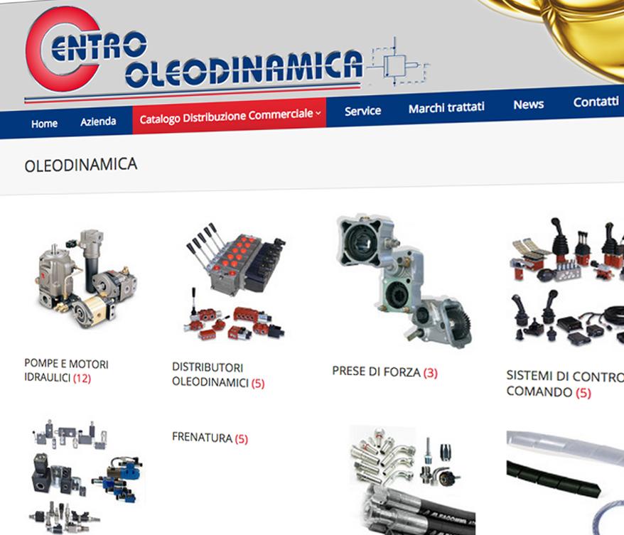 Realizzazione Sito Web Centrooleodinamica C3 Comunicazione A 360