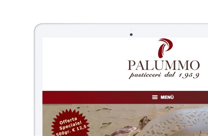 sito web per tablet Pasticceria