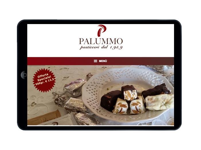 sviluppo sito web mobile Pasticceria Palummo